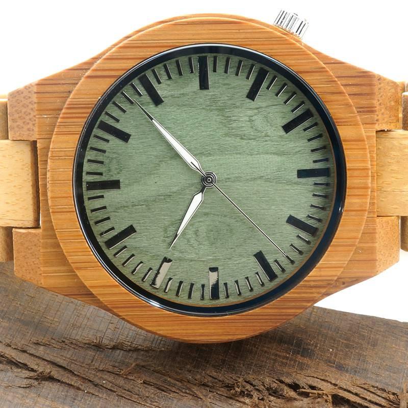 Medinis laikrodis OldWood MW10