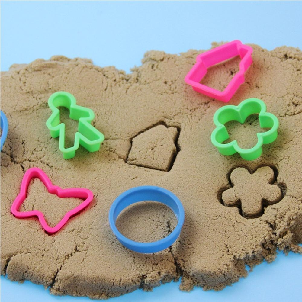 Redaguoti: Kinetinio smėlio rinkinys su formomis 0.5 kg