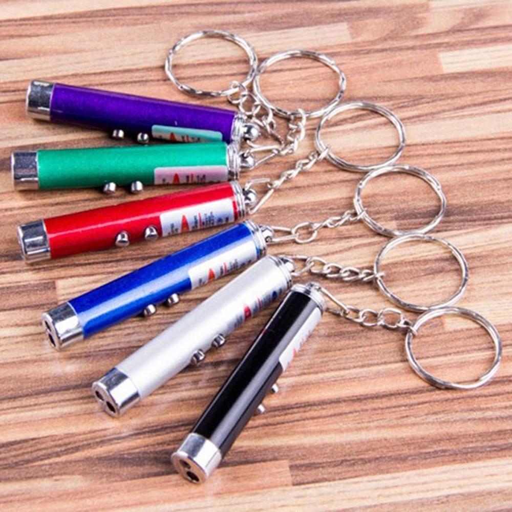 Lazeris - raktų pakabukas | 2in1 lazeriukas