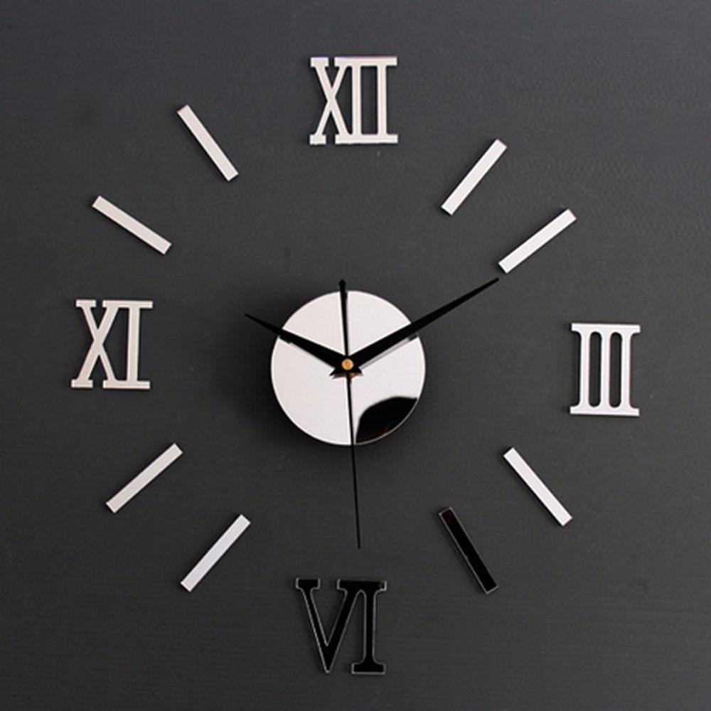 Sieninis veidrodinis laikrodis | Dekoratyvinis laikrodis