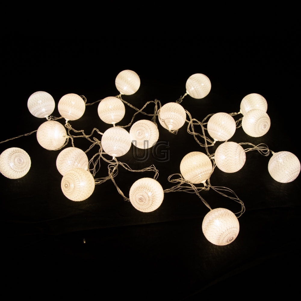 LED medvilniniai burbulai