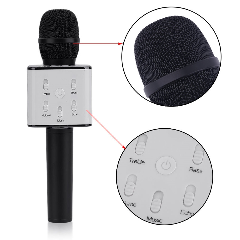 Mikrofonas su efektais Q7