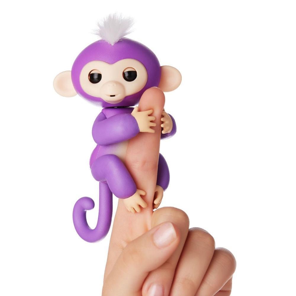 Baby Monkey žaislas | Išmanioji beždžionėlė Finger Monkey