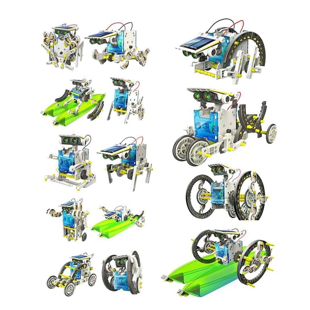 Konstruktorius Solar Robot -13in1 robotas