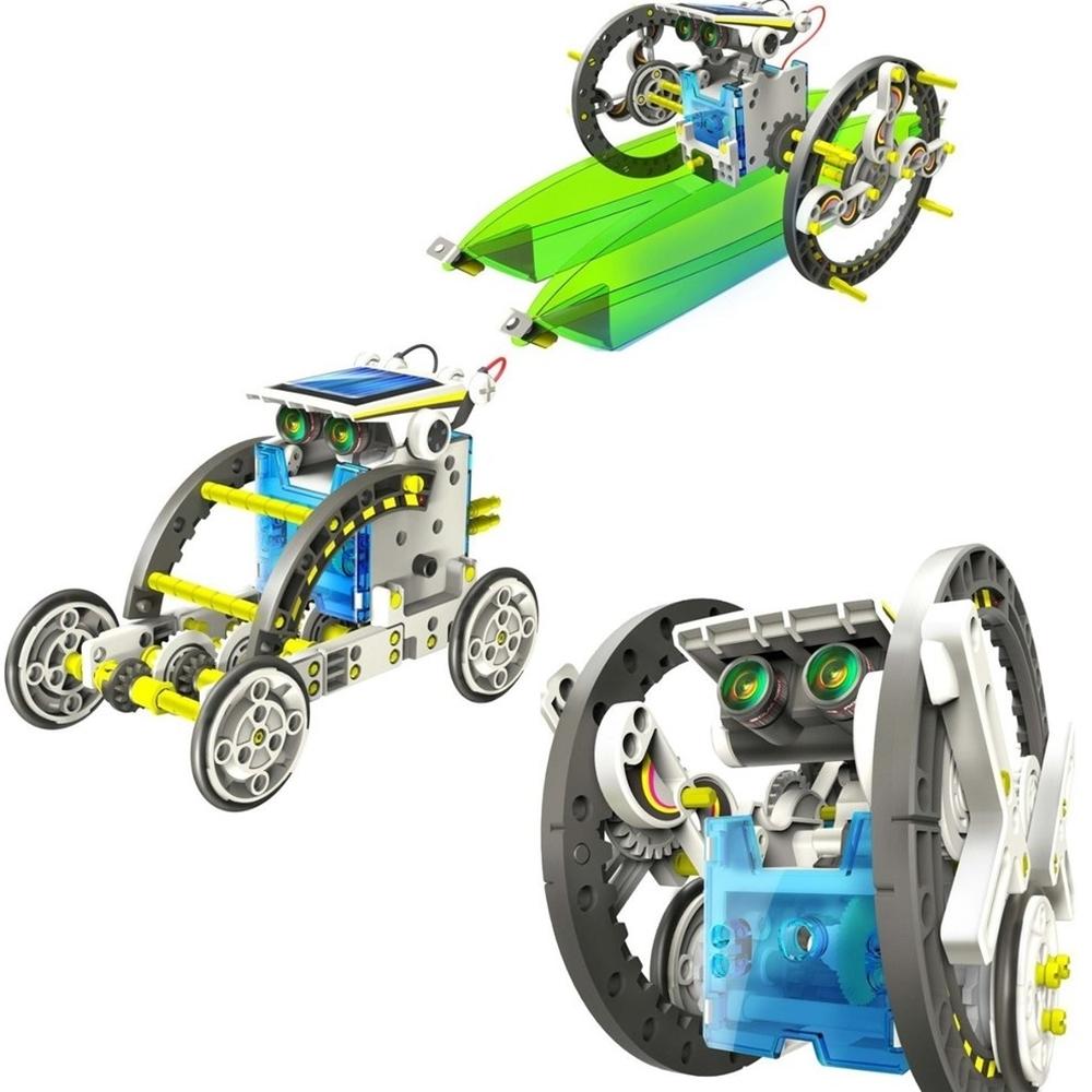 Konstruktorius Solar Robot - 13in1 robotas