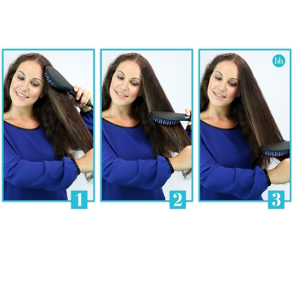 Plaukų tiesinimo šepetys