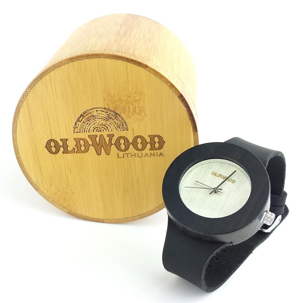 Medinis laikrodis OldWood WL28