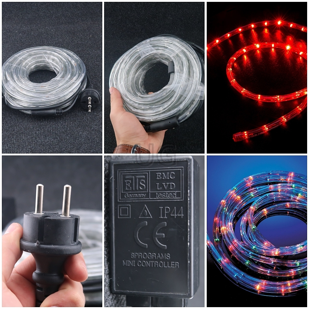 Kalėdinė LED juosta STANDRT PLIUS 10 m   LED švytintis laidas