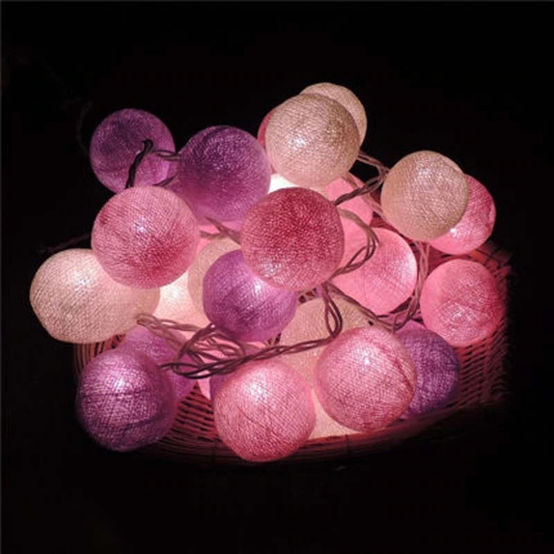 Medvilninių burbulų girlianda M