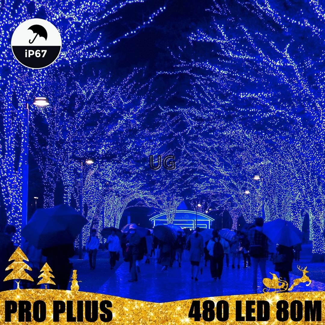 Profesionali lauko girlianda 480 LED IP67 PRO PLIUS