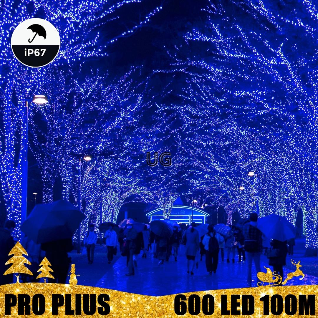 Profesionali lauko girlianda 600 LED IP67 PRO PLIUS