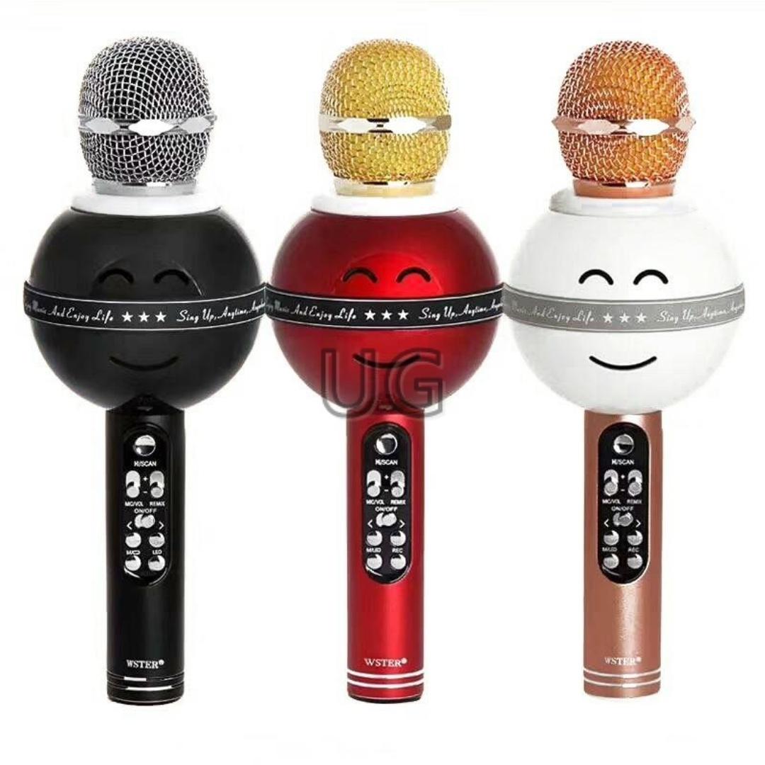 Mikrofonas su efektais WS-858