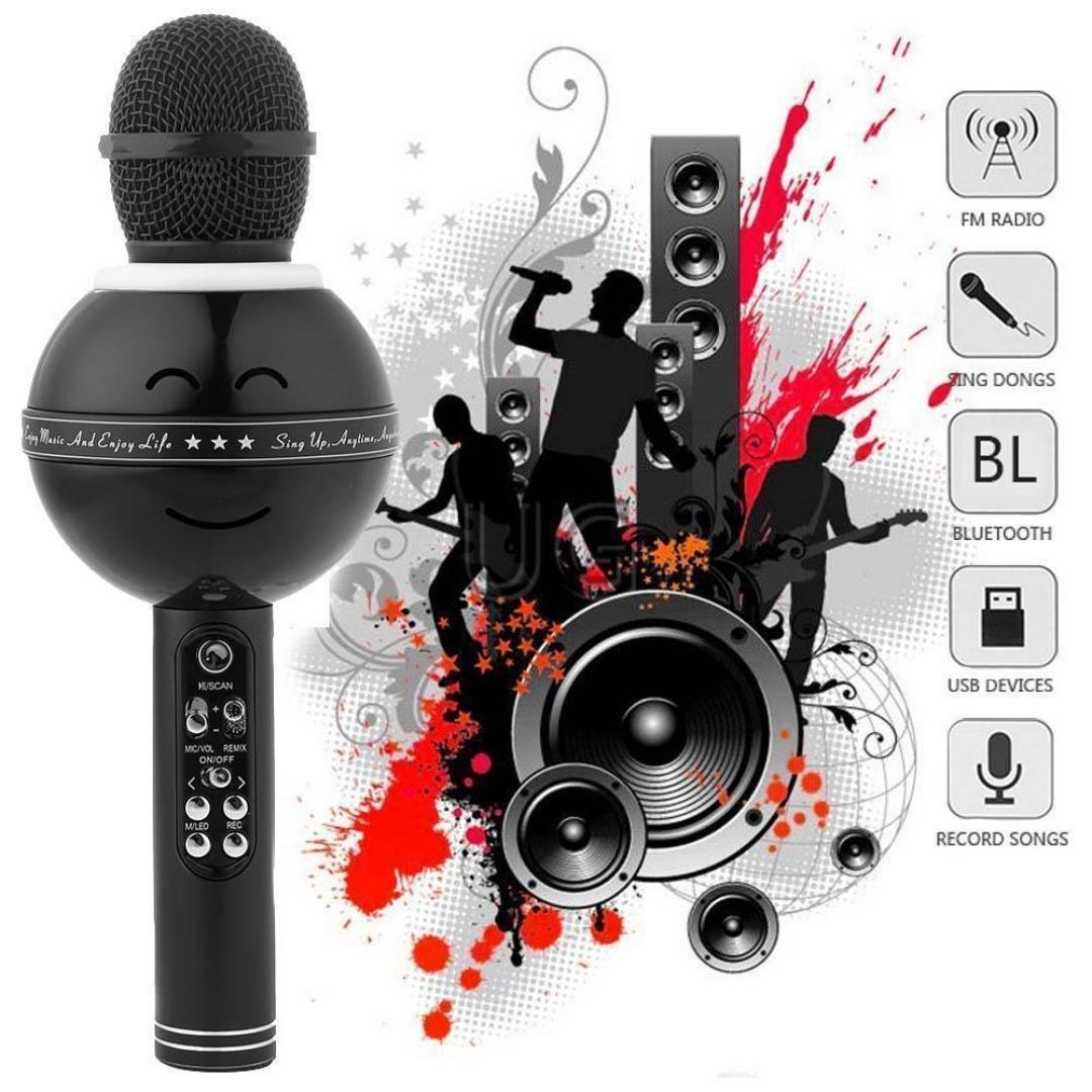Mikrofonas su efektais ws-878
