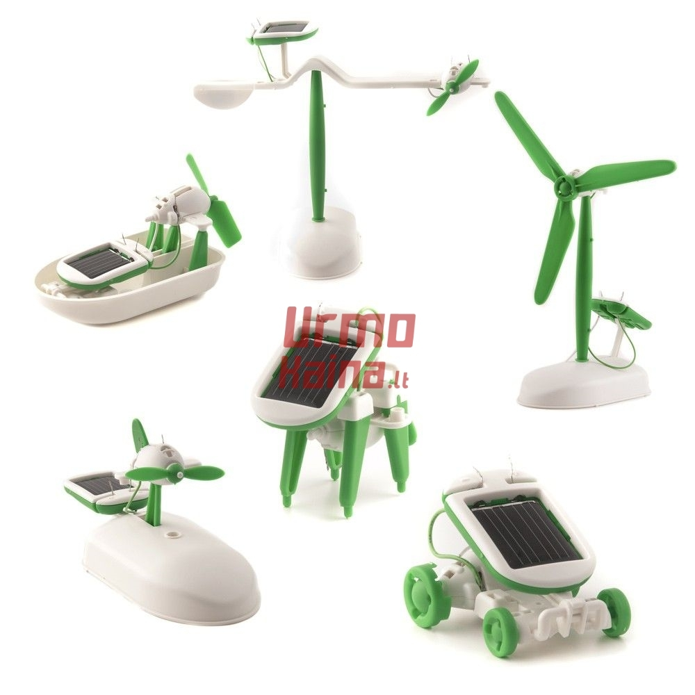 Konstruktorius Solar Robot - 6 in 1