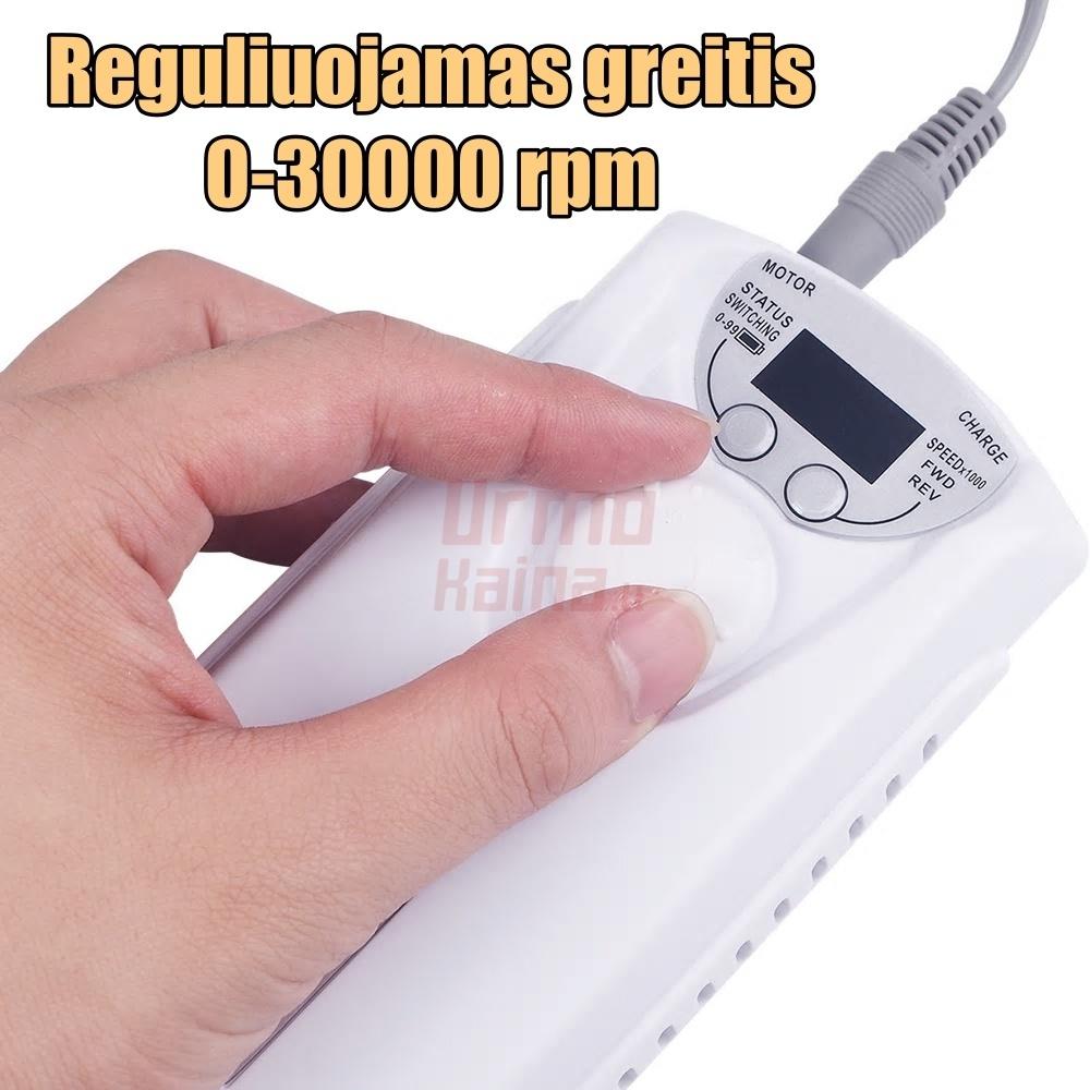 Nešiojama elektrinė freza nagams JD-1