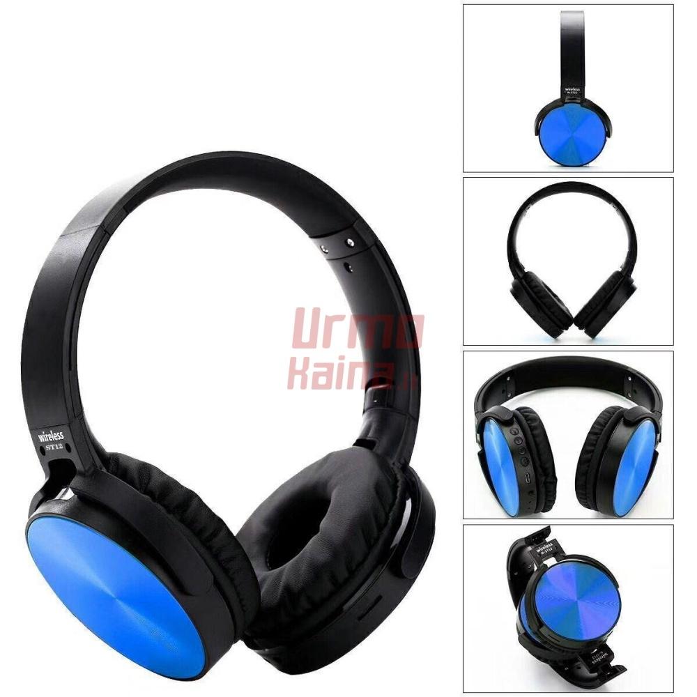 Bevielės bluetooth ausinės T12