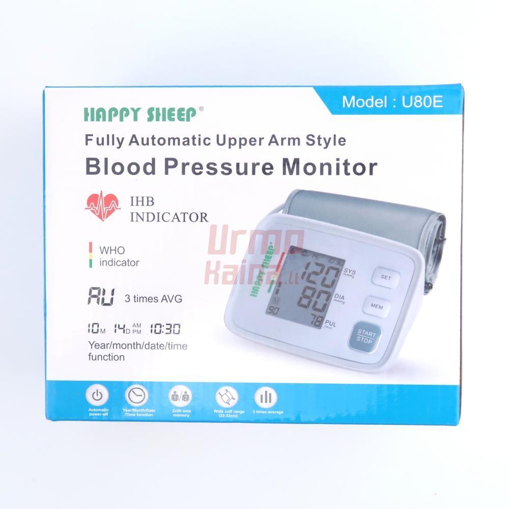 Kraujospūdžio matuoklis ant rankos HP K05