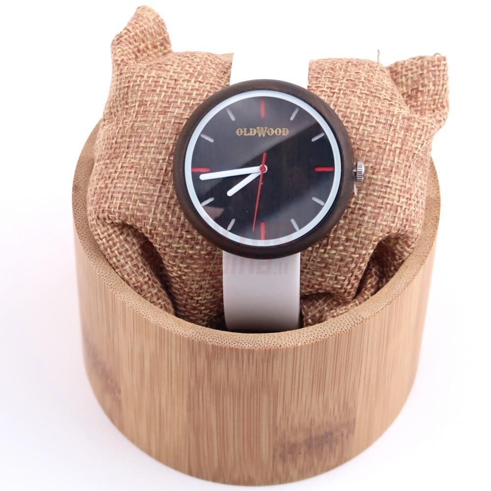 Medinis laikrodis OldWood WL76