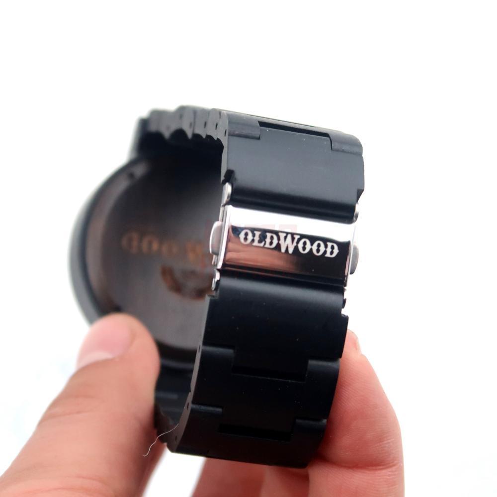 Medinis laikrodis OldWood MW75