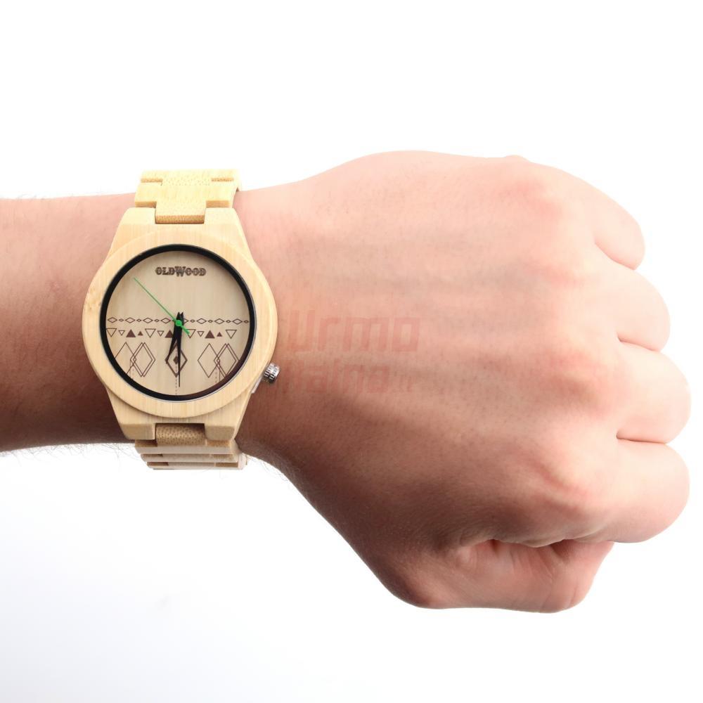 Medinis laikrodis OldWood WW78