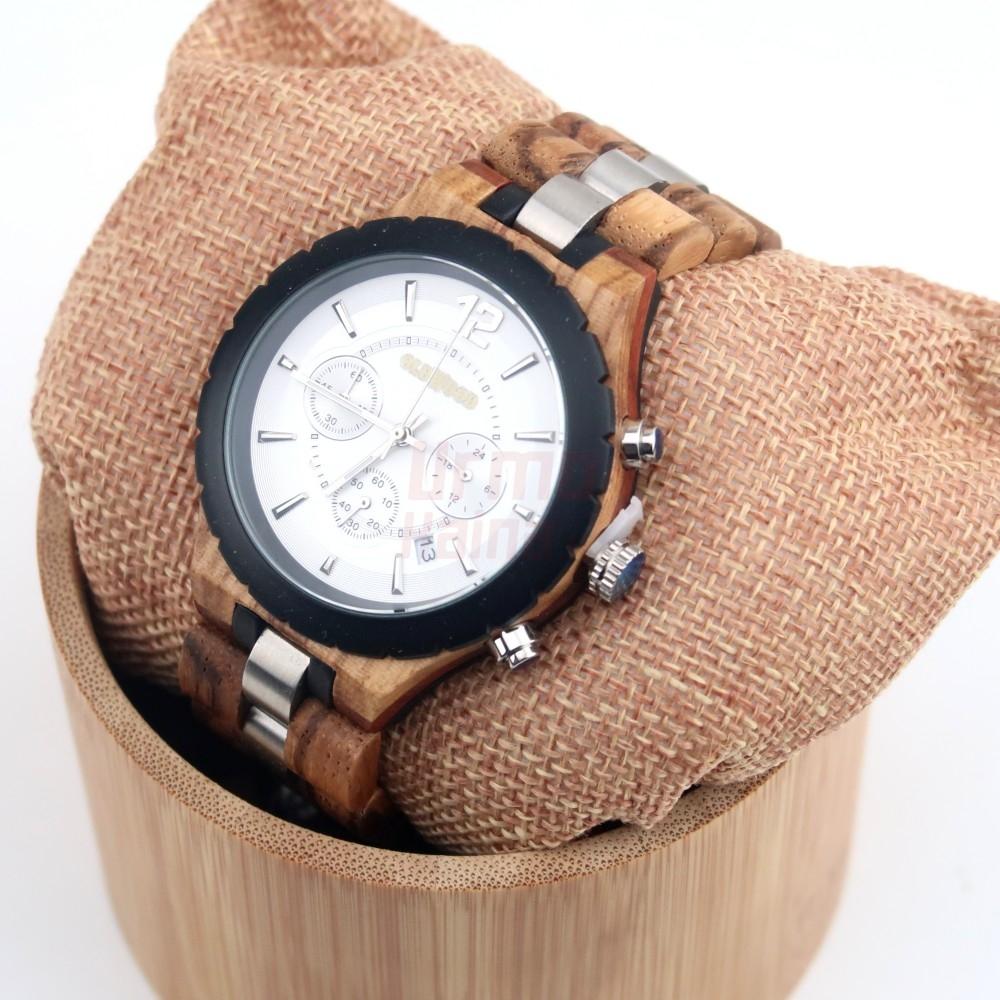 Medinis laikrodis OldWood MW72