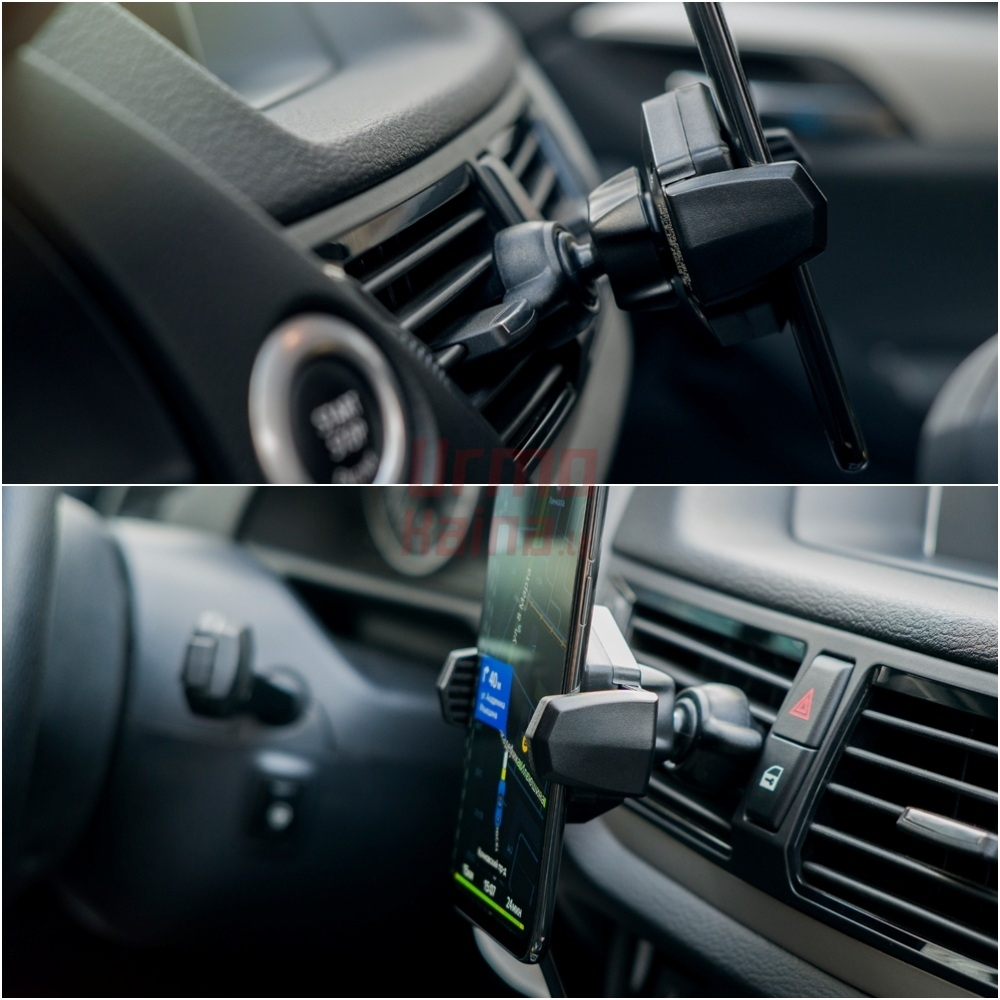 Belaidis telefono laikiklis-kroviklis | Neoline Fixit Qi M2