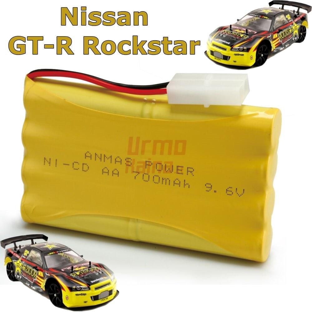 RC mašinėlės su pultu Nissan Skyline GT-R Rockstar akumuliatoriuss