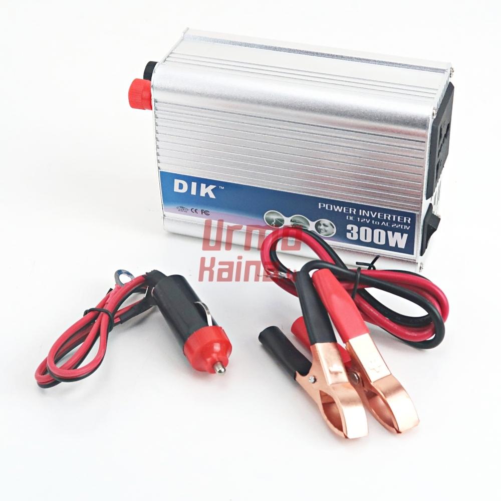 Inverteris DC12V/24V į AC220V 300W