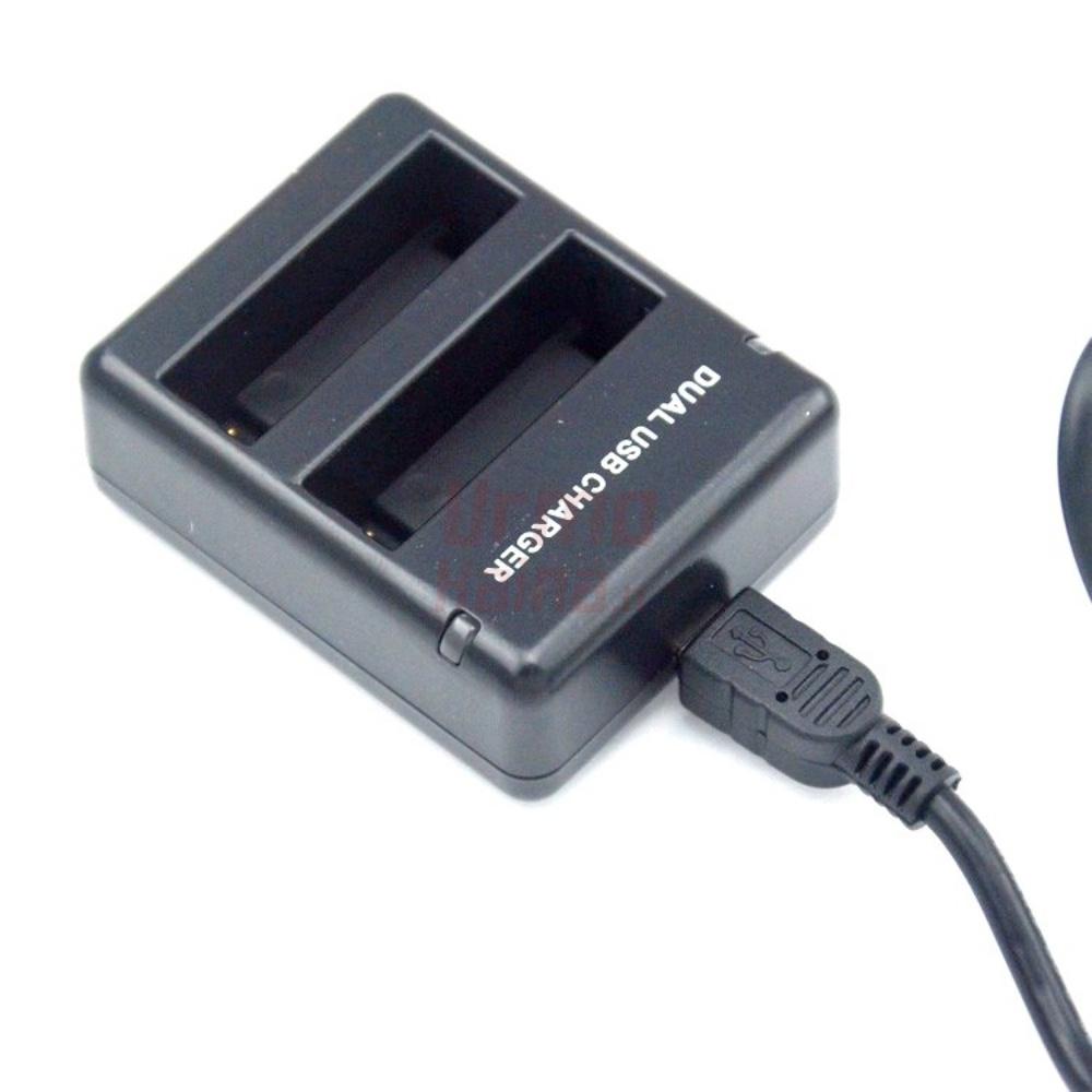 Dvivietis Hero 4 kroviklis | GoPro baterijos įkrovėjas