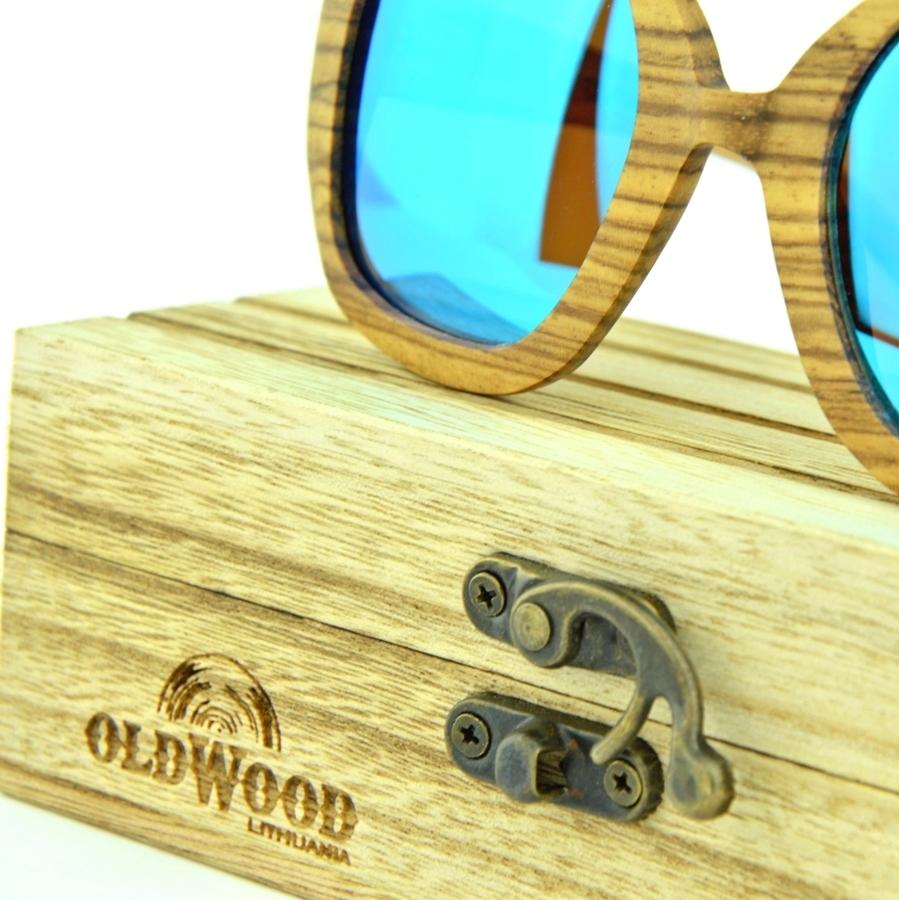 Mediniai akiniai nuo saulės OldWood MA01