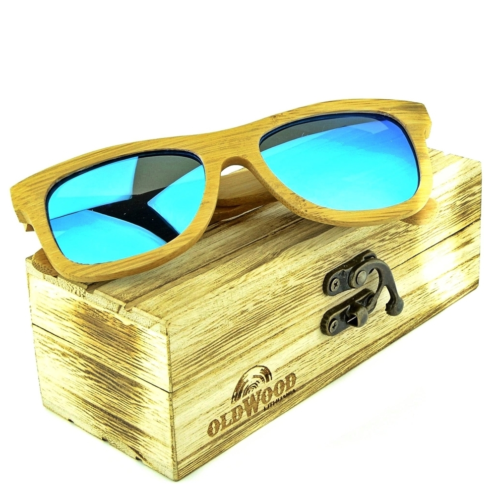 Mediniai akiniai nuo saulės OldWood VA06