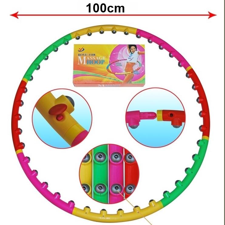 Liekninantis magnetinis lankas MASSAGE HOOP
